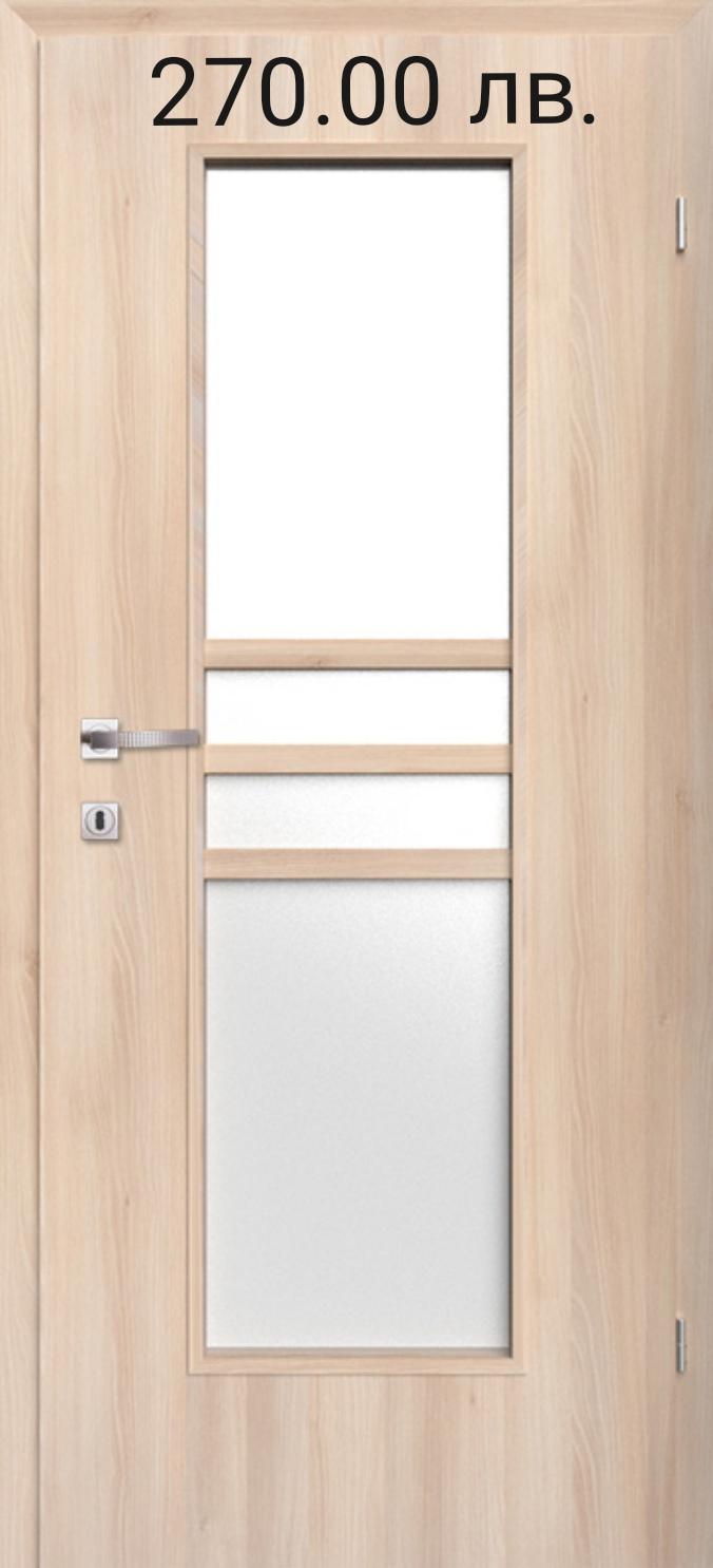 Врата Classen Деметър м.2  Ясен сняг CPL ламинат фолио  -  270.00 лв.
