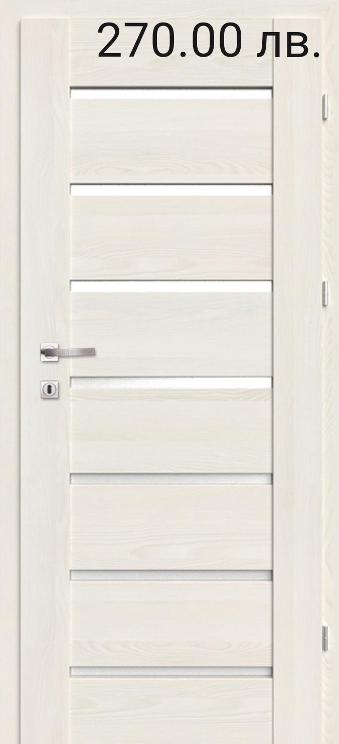 Врата Classen Греко м.3  Ясен бял Primo фолио  - 270.00 лв.